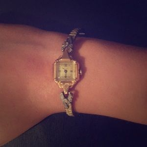 Antique gold watch